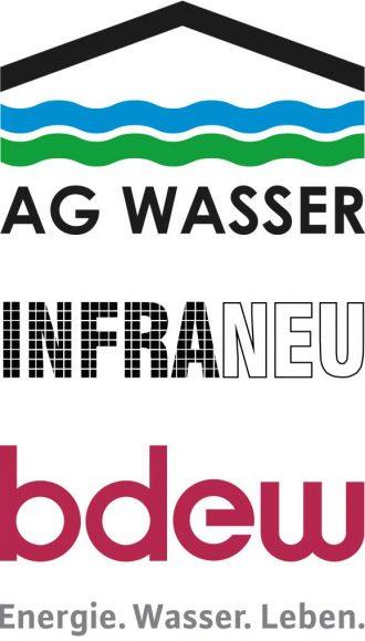 Gastgeber der Fachtagung Abwasserbilanz: AG WASSER, Infraneu, bdew